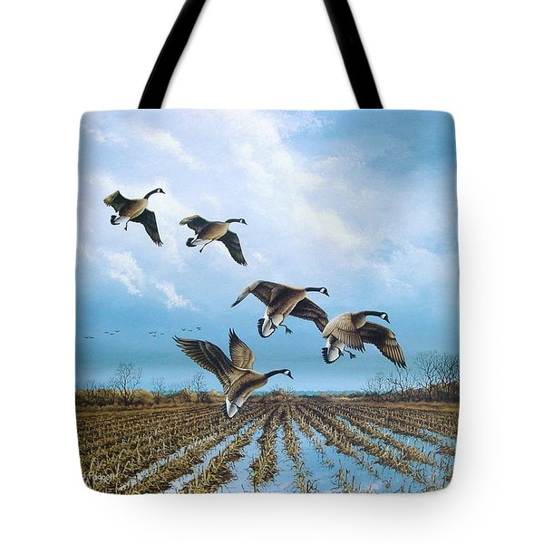 Canadian Cold Front Tote Bag