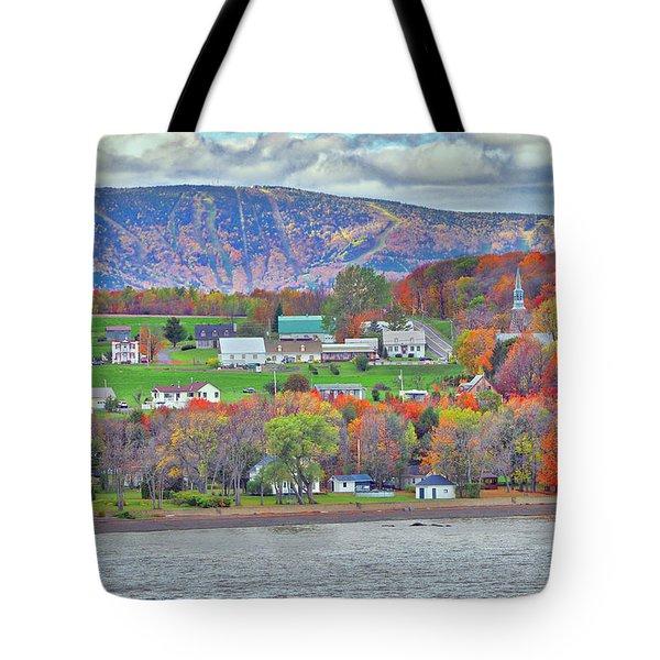 Canadian Fall Foliage Tote Bag