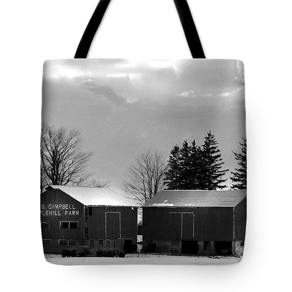 Canadian Farm Tote Bag by Anthony Jones