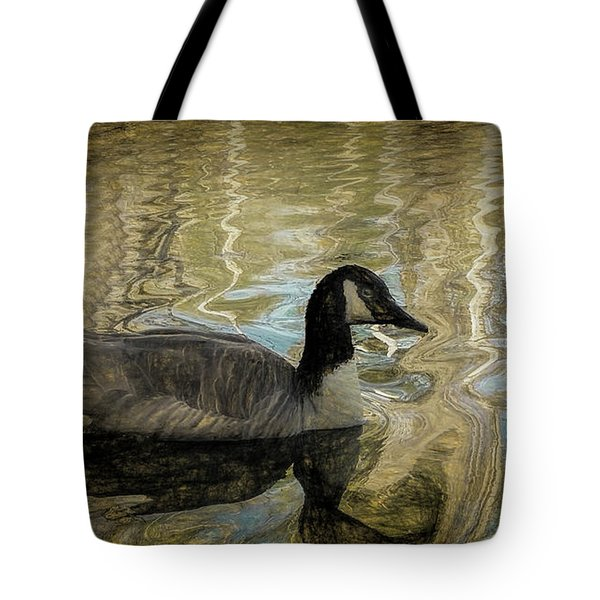 Canadian Goose Tote Bag by Steven Richardson