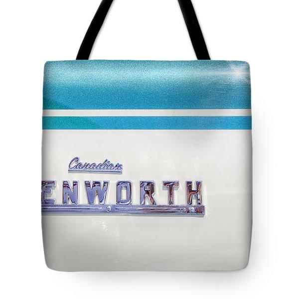 Canadian Kenworth Tote Bag