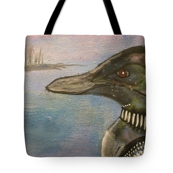 Canadian Loon Tote Bag