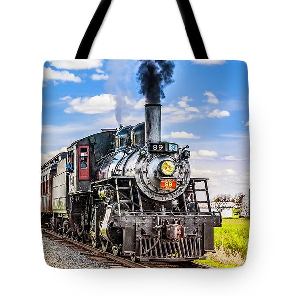 Tote Bag featuring the photograph Canadian National 89 by Nick Zelinsky