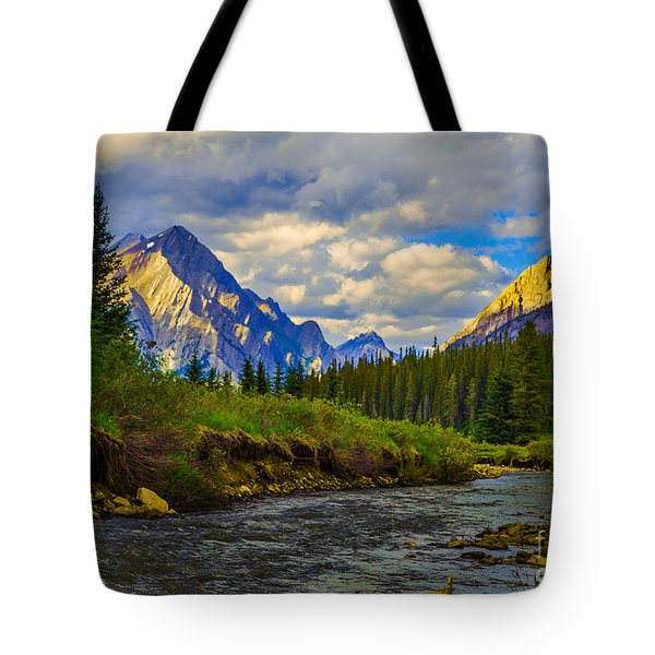 Canadian Rocky Mountains Tote Bag