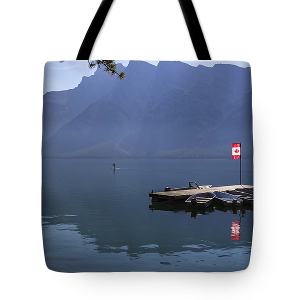 Canadian Serenity Tote Bag by Angela A Stanton