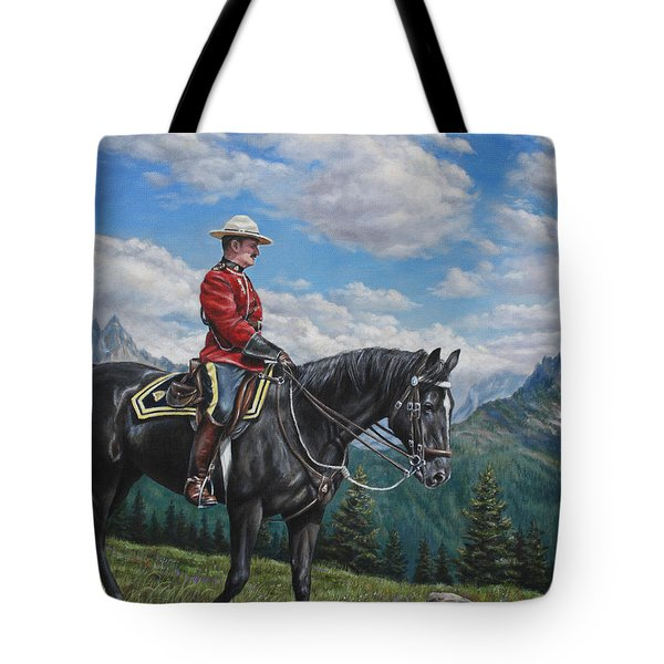 Canadian Majesty Tote Bag