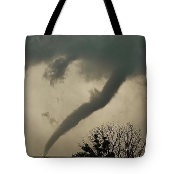 Tote Bag featuring the photograph Canadian Tx Tornado by Ed Sweeney