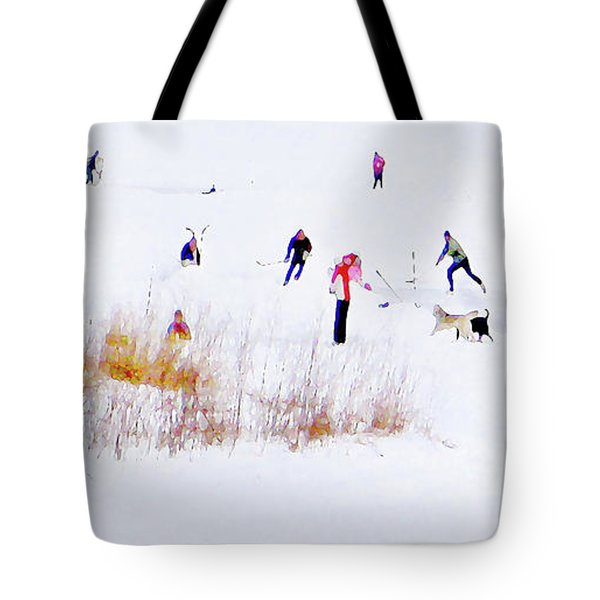 Tote Bag featuring the photograph Canadiana by John Poon