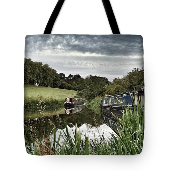 Canal Boats Tote Bag