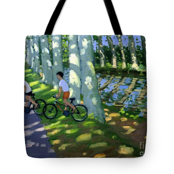 Canal Du Midi France Tote Bag by Andrew Macara
