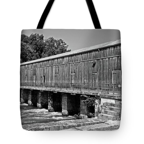 Canal Headgates Tote Bag