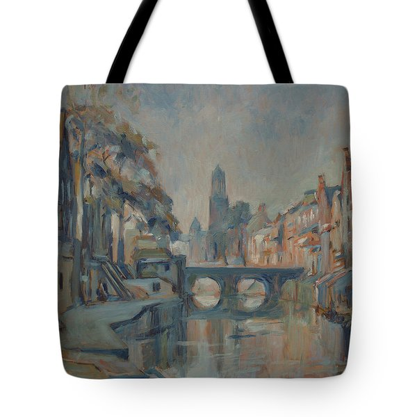Canal In Utrecht Tote Bag
