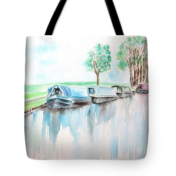 Canal Journey Tote Bag