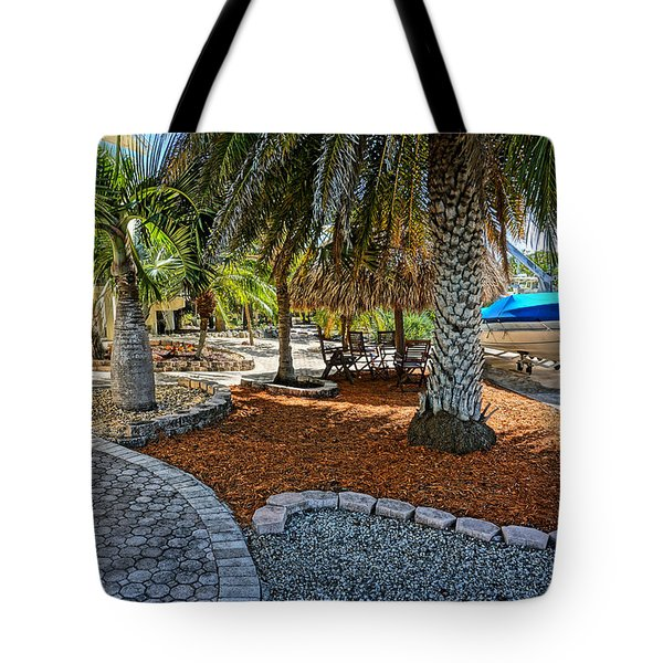 Canal Landscape Tote Bag
