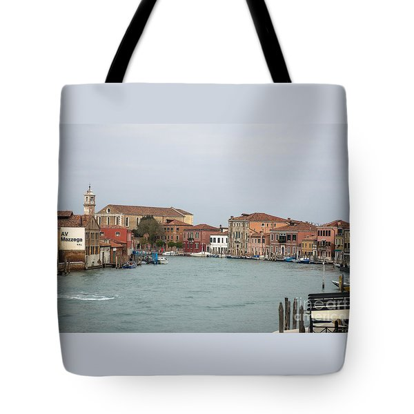 Canal Of Murano Tote Bag