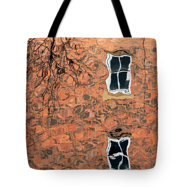 Canal Reflections 1 Tote Bag