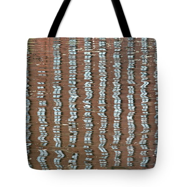 Canal Reflections 4 Tote Bag