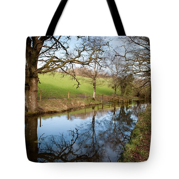 Canal Reflections Tote Bag