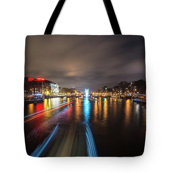 Canal Streaking IIi Tote Bag