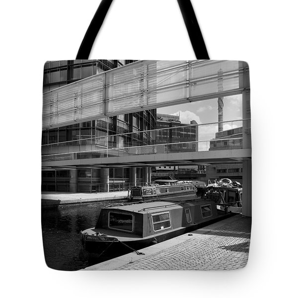 Canals London Tote Bag