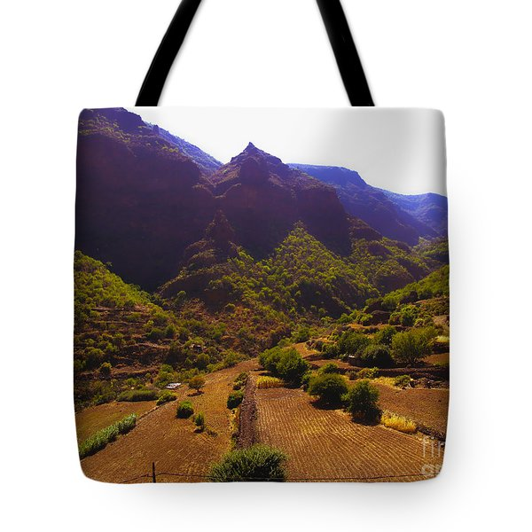 Canarian Agriculture Tote Bag