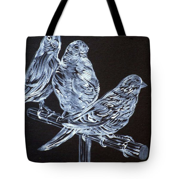 Canaries Tote Bag by Fabrizio Cassetta