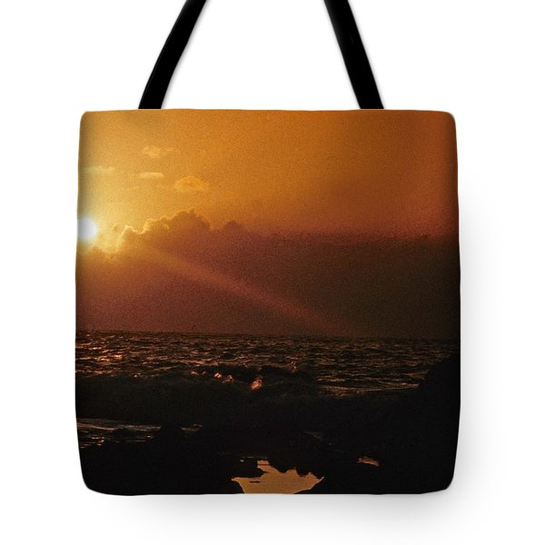 Canary Islands Sunset Tote Bag