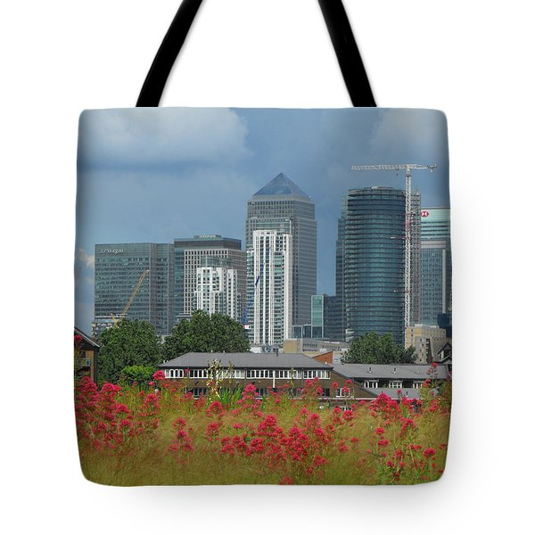Canary Wharf 01 Tote Bag