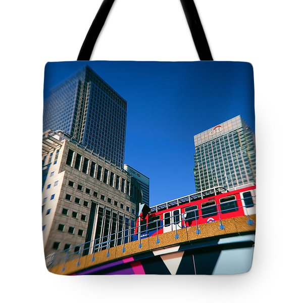 Canary Wharf Commute Tote Bag