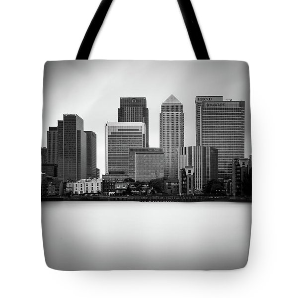 Canary Wharf II, London Tote Bag by Ivo Kerssemakers