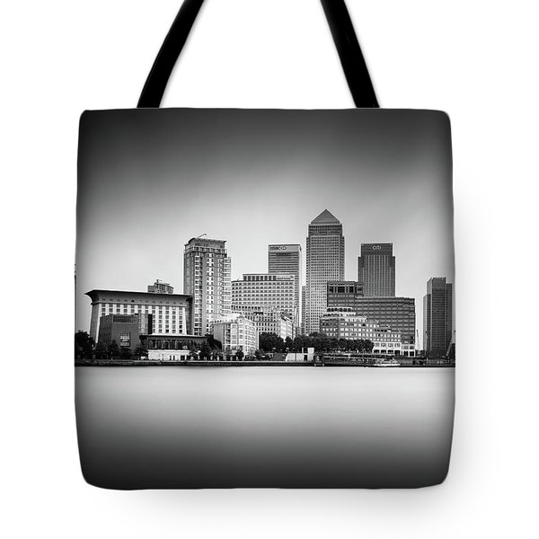 Canary Wharf, London Tote Bag by Ivo Kerssemakers