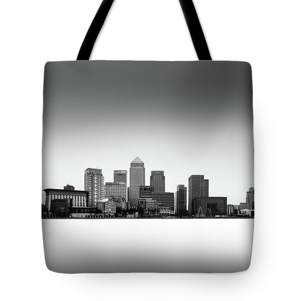 Canary Wharf Skyline Tote Bag by Ivo Kerssemakers
