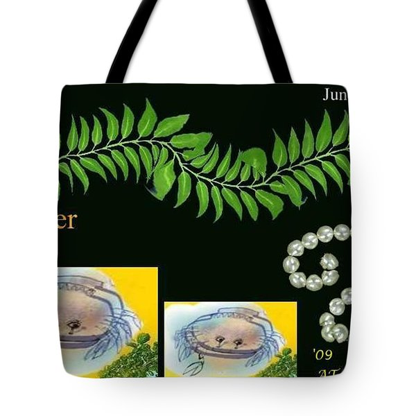 Tote Bag featuring the digital art Cancer by The Art of Alice Terrill