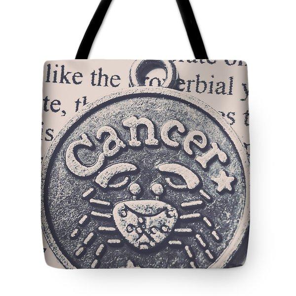 Cancer Zodiac Artwork Tote Bag