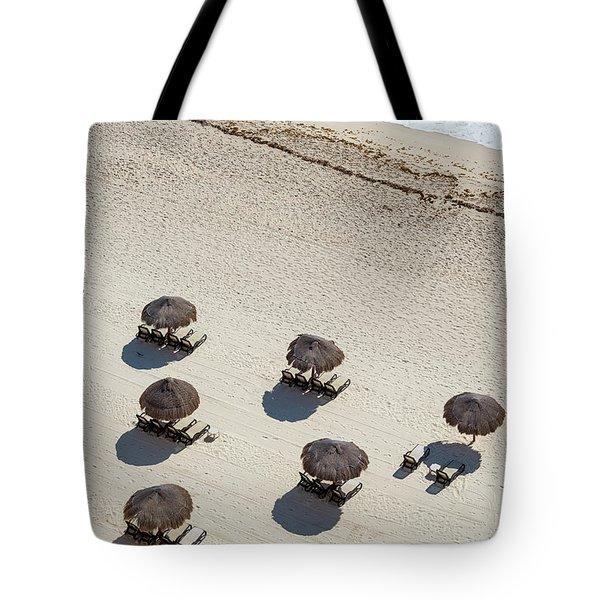 Cancun Beach View Tote Bag