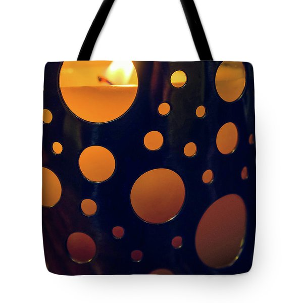 Tote Bag featuring the photograph Candle Holder by Carlos Caetano