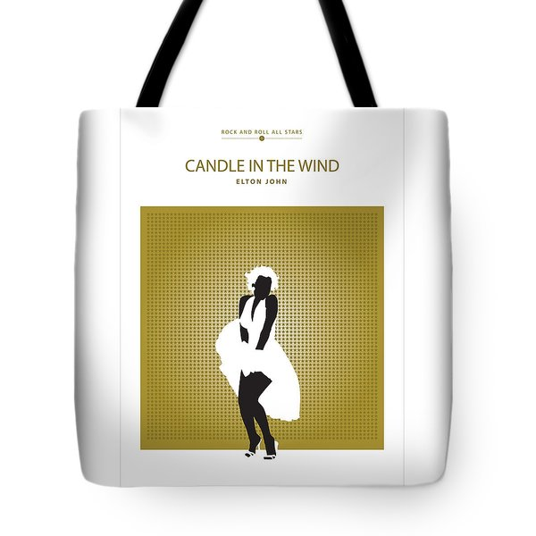 Candle In The Wind -- Elton John Tote Bag