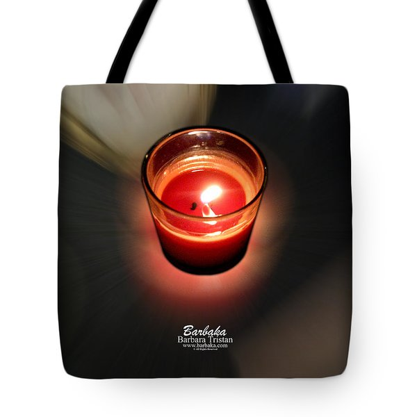 Candle Inspired #1173-3 Tote Bag