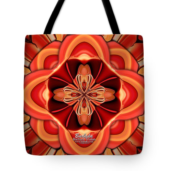 Candle Inspired #1173-4 Tote Bag