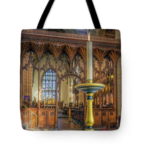 Tote Bag featuring the photograph Candle Of  Prayer by Ian Mitchell