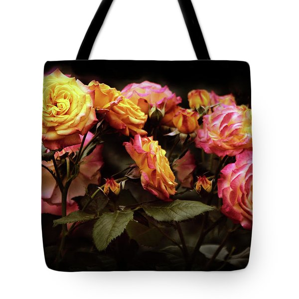 Candlelight Rose  Tote Bag by Jessica Jenney