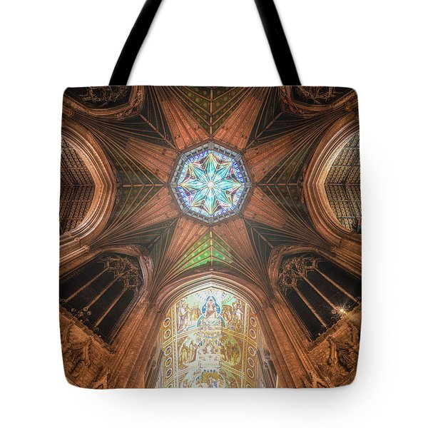 Candlemas - Octagon Tote Bag