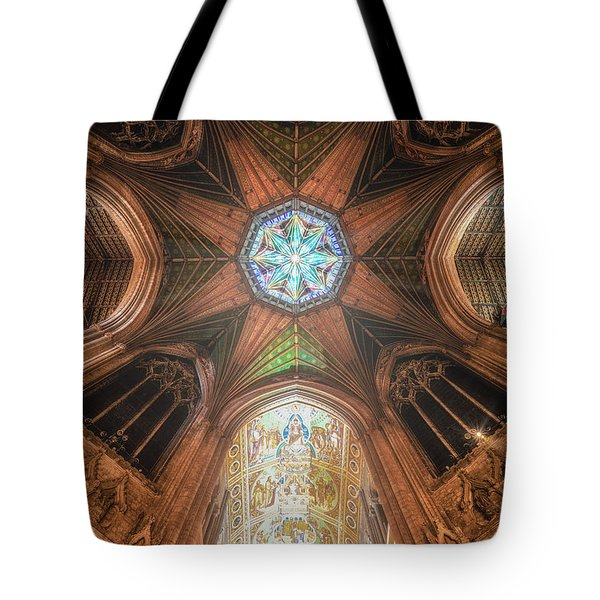 Tote Bag featuring the photograph Candlemas - Octagon by James Billings