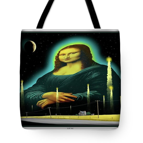 Candles For Mona Tote Bag by Scott Ross