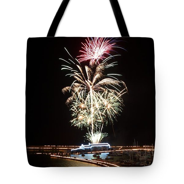 Candles On The Cobb  Tote Bag