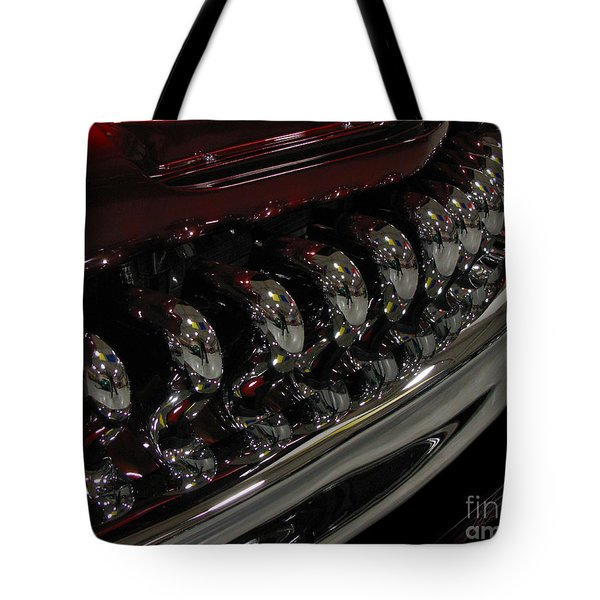 Candy Apple Bullets Tote Bag by Peter Piatt