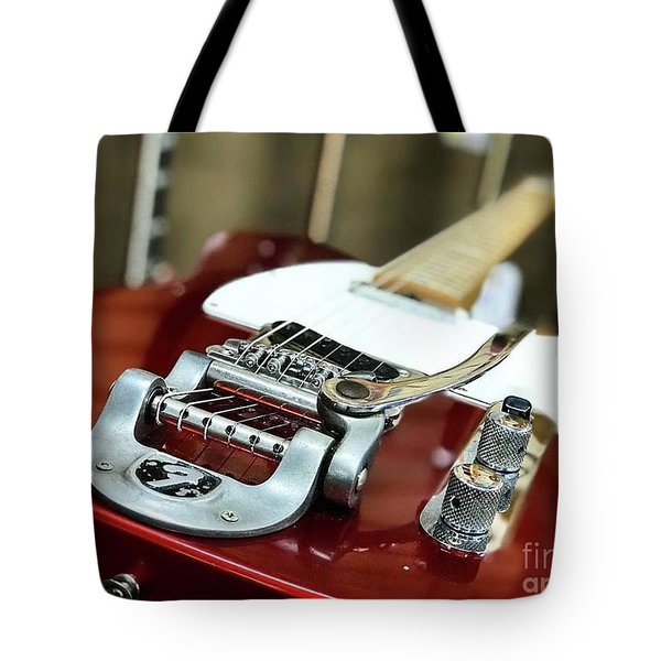 Candy Apple Fender Tote Bag