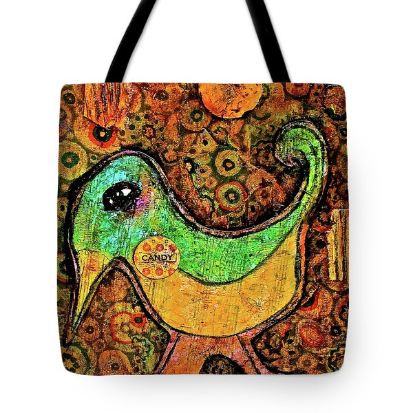Candy Bird Tote Bag
