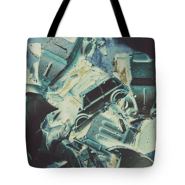 Candy Car Crush Tote Bag
