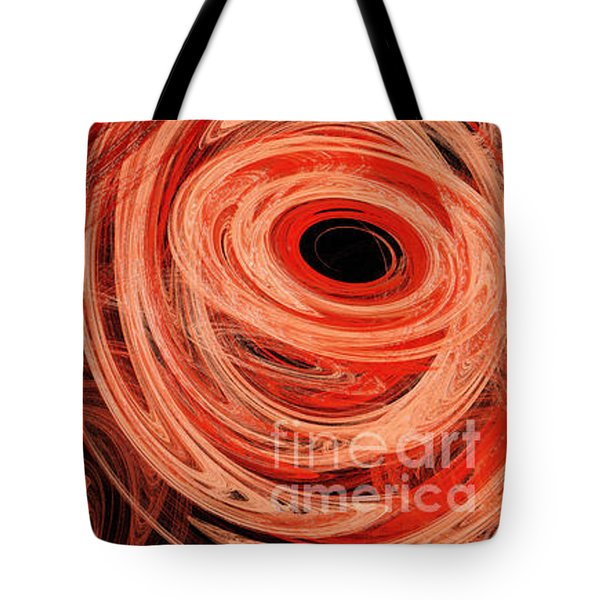 Tote Bag featuring the digital art Candy Chaos 1 Abstract by Andee Design